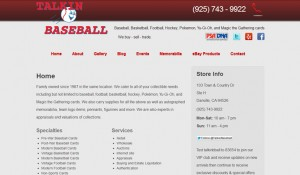 Danville Memorabilia, Collectibles, Sports Cards website is launched!